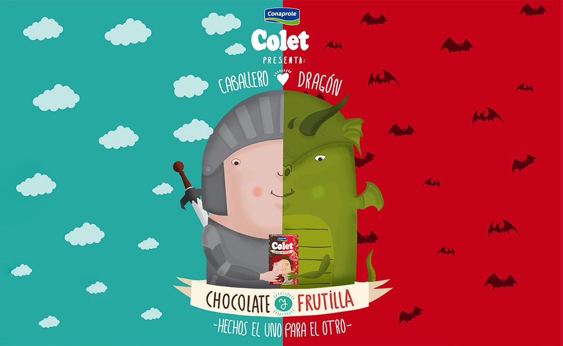 Colet Frutilla y Chocolate 4
