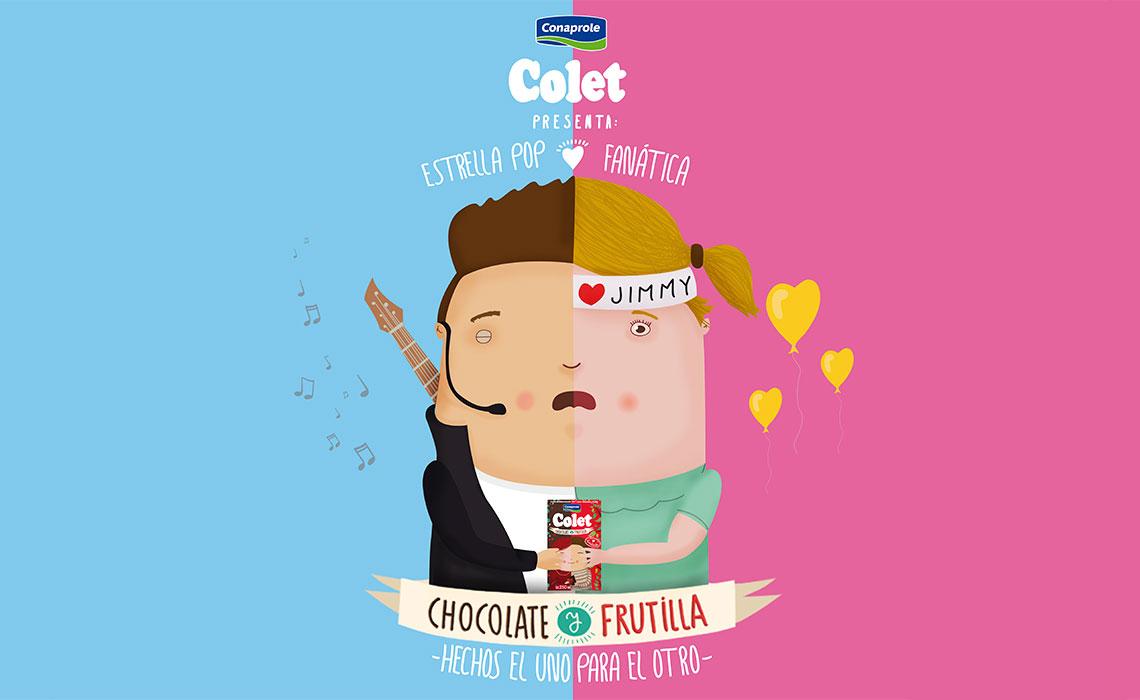 Colet Frutilla y Chocolate 5
